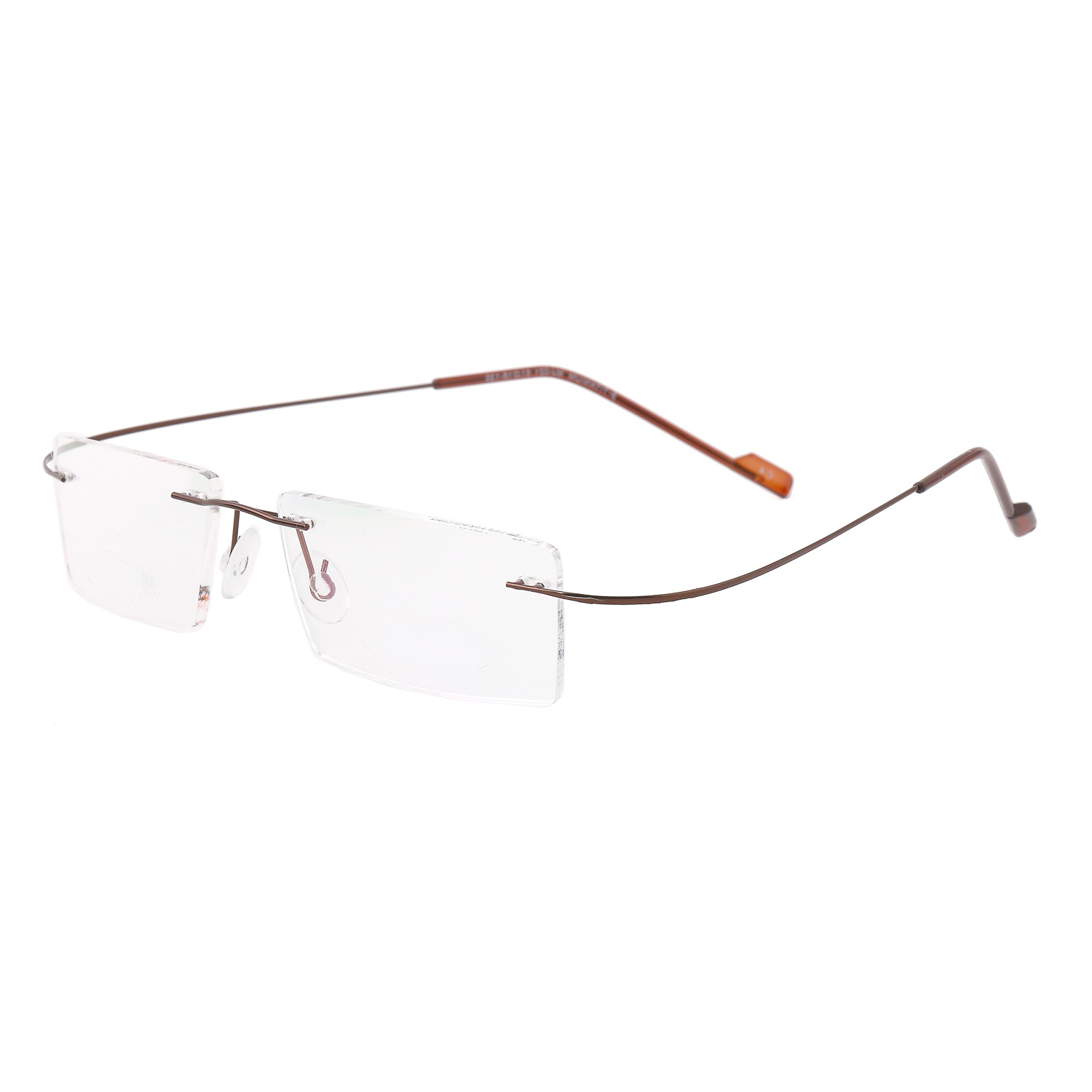 ec59400be6 Royal Son Rim Less Rectangle Spectacle Frame For Men and Women ...